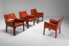 Mario Bellini Mario Bellinis CAB armchair 414 1980s - 1468372