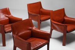 Mario Bellini Mario Bellinis CAB armchair 414 1980s - 1468376