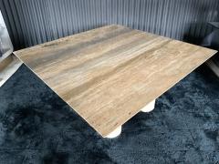 Mario Bellini Monumental Travertine Dining Table after Mario Bellini - 1919810