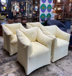 Mario Bellini Pair of 4 Tentazione Lounge Chairs for Cassina by Mario Bellini - 1609559