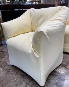 Mario Bellini Pair of 4 Tentazione Lounge Chairs for Cassina by Mario Bellini - 1609560