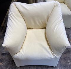Mario Bellini Pair of 4 Tentazione Lounge Chairs for Cassina by Mario Bellini - 1609562
