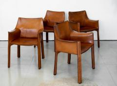 Mario Bellini SET OF 4 BELLINI CAB CHAIRS - 1068282