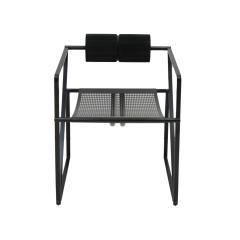 Mario Botta Mid Century Modern Pair of Chairs Mod Seconda Designed by Mario Botta 1982 - 2078706