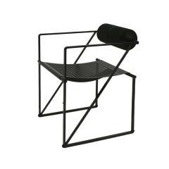 Mario Botta Mid Century Modern Pair of Chairs Mod Seconda Designed by Mario Botta 1982 - 2078707