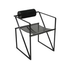 Mario Botta Mid Century Modern Pair of Chairs Mod Seconda Designed by Mario Botta 1982 - 2078708