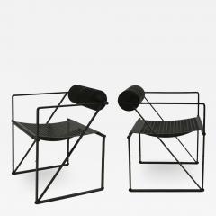 Mario Botta Mid Century Modern Pair of Chairs Mod Seconda Designed by Mario Botta 1982 - 2078841