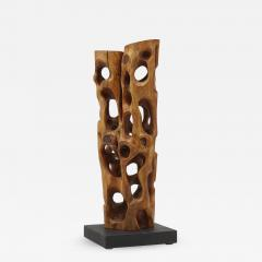Mario Dal Fabbro Untitled Carved Organic Shaped Natural Wood Sculpture - 1163160