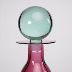 Mario Pinzoni Large bottle with stopper Mario Pinzoni for Seguso vetri dArte - 1563475