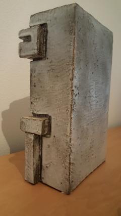 Marius Bessone Vallauris Marius Bessone earthware clock  - 972630
