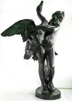 Marius Jean Antonin Mercie Girl and Swan - 231494