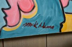 Mark Adams All Those Eyes Acrylic On Canvas by Mark Adams - 467116