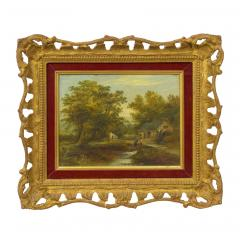 Mark Edwin Dockree A Small Mill Antique Landscape Painting by Mark Dockree English 1856 1901  - 1066439