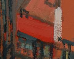 Mark Horton City in Orange and Green 32 x 58  - 1191253