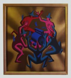Mark Kostabi Cash Dance Lithograph by Kostabi - 227234
