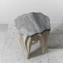 Markus Haase Ash and Marble Side Table USA 2016 - 108516