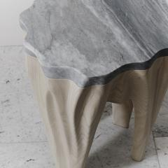 Markus Haase Ash and Marble Side Table USA 2016 - 108517