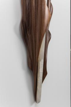 Markus Haase Markus Haase Black Walnut Single Wrapped Sconce USA 2016 - 243305