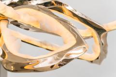 Markus Haase Markus Haase Bronze and Onyx Circlet Chandelier III DE - 1667147