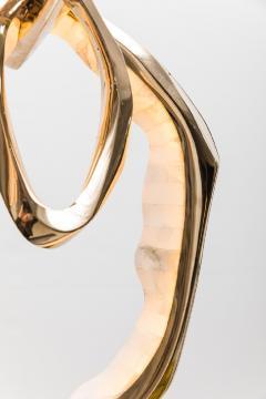 Markus Haase Markus Haase Bronze and Onyx Circlet Pendant USA 2019 - 938824
