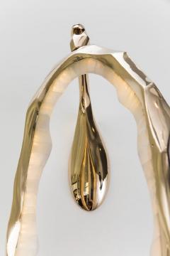 Markus Haase Markus Haase Bronze and Onyx Circlet Sconce USA 2018 - 848481