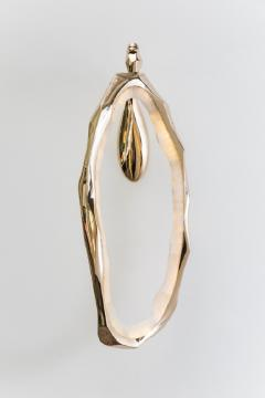 Markus Haase Markus Haase Bronze and Onyx Circlet Sconce USA 2018 - 848483
