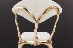 Markus Haase Markus Haase Faceted Bronze Dining Chair USA 2018 - 852569