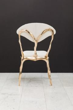 Markus Haase Markus Haase Faceted Bronze Dining Chair USA 2018 - 852575