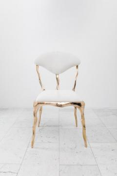Markus Haase Markus Haase Faceted Bronze Dining Chair USA 2018 - 852576