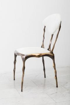 Markus Haase Markus Haase Faceted Bronze Patina Dining Chair USA 2018 - 852604