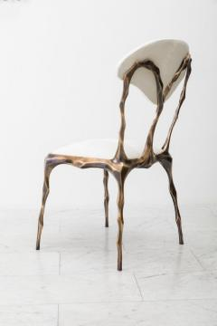 Markus Haase Markus Haase Faceted Bronze Patina Dining Chair USA 2018 - 852605