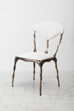 Markus Haase Markus Haase Faceted Bronze Patina Dining Chair USA 2018 - 852607