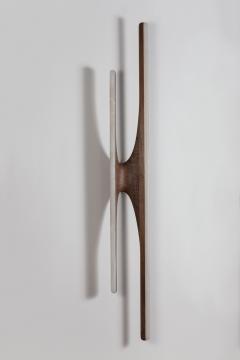 Markus Haase Markus Haase Walnut and Onyx Sculptural Sconce USA 2016 - 193974