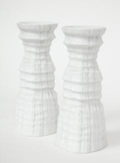 Martin Freyer Glacier Series Candlesticks by Martin Freyer for Rosenthal - 785502