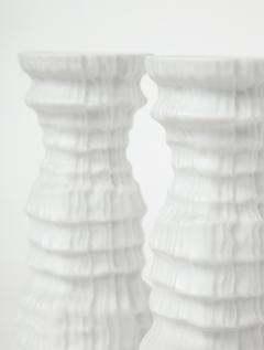 Martin Freyer Glacier Series Candlesticks by Martin Freyer for Rosenthal - 785505