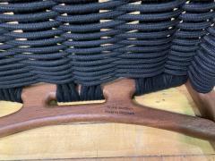 Martin Godsk Martin Godsk Mg15 Woven Rope Oak Stool Denmark - 1805920