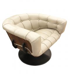 Martin Grierson Martin Grierson Swivel Lounge Chair for Artflex Italy 1960s - 1499565