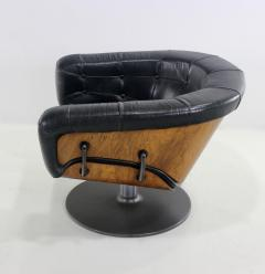Martin Grierson Pair of Mid Century Modern Swivieling Armchairs Designed by Martin Grierson - 983121