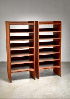 Martin Nyrop Martin Nyrop pair of pine bookcases Denmark ca 1900 - 1116388
