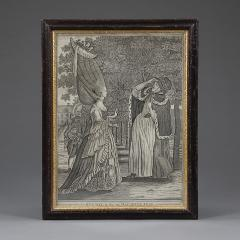Mary Darly A group of twelve late 18th century satirical prints of women and their wigs - 930916