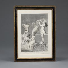 Mary Darly A group of twelve late 18th century satirical prints of women and their wigs - 930922