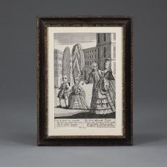 Mary Darly A group of twelve late 18th century satirical prints of women and their wigs - 930924