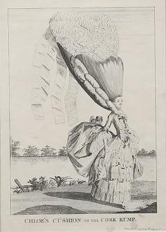 Mary Darly A group of twelve late 18th century satirical prints of women and their wigs - 931343