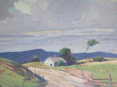 Mary DeNeale Morgan Wind Oil on Canvas by CA Artist Mary DeNeale Morgan American 1868 1948 - 1912564