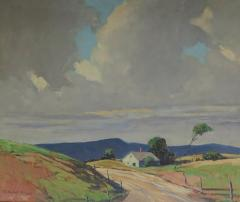 Mary DeNeale Morgan Wind Oil on Canvas by CA Artist Mary DeNeale Morgan American 1868 1948 - 2012685