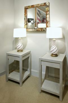 Mary Forssberg Mary Forssberg Pair of Telephone Style Night Stands Custom Made to Order - 346041