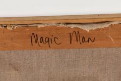 Mary Spain Magic Man Oil on Canvas by Mary Spain - 1406031