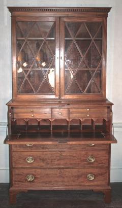 Maryland Federal Period Secretary Bookcase - 1467848