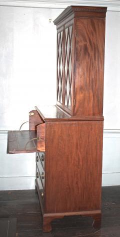 Maryland Federal Period Secretary Bookcase - 1467853