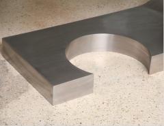 Marzio Cecchi A Rare Marzio Cecchi Stainless Steel Desk Console - 529104